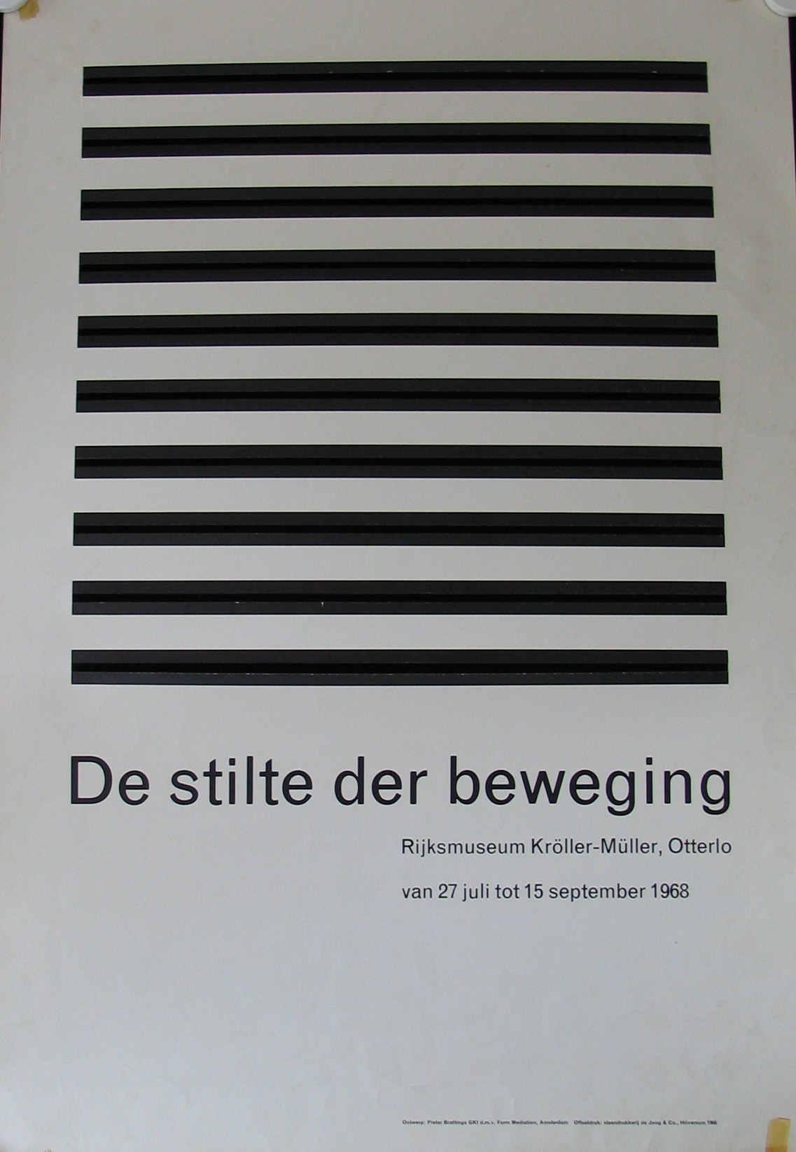 Brattinga stilte der beweging